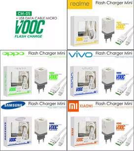 Charger Vooc 2usb + kabel