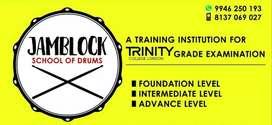 "Drums class in calicut @ ""JAMBLOCK school of drums"". East nadakkavu."