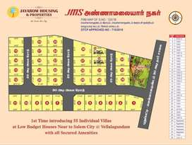 Offer sale!!! Pay 2 Lakh downpayment 1BHK Plots Sale (Vellalagundam)