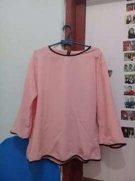 Baju pink fit L