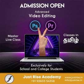 Video Editing Master Class (Photoshop + Premiere Pro)
