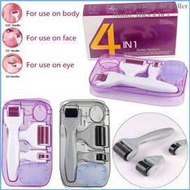 Derma Roller 4 in 1, 	Luscious skin, have some tips