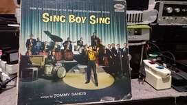 PH  Vinyl ; Sing Boy Sing , Song by Tommy Sands