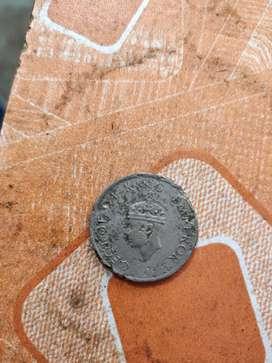 british Indian coin