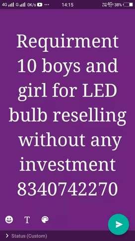 Led bulb reselling