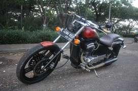 Regal raptor 2012 pajak hidup panjang custom Bobber japstyle Scrambler