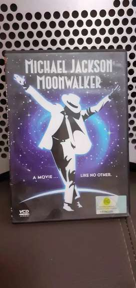 VCD MIHAEL JACKSON #MOONWALKER# Original 2 Disc