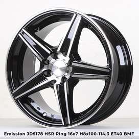 EMISSION JD5178 HSR R16X7 H8X100-114,3 ET40 BMF