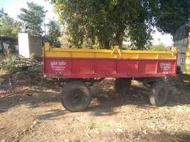 Mahindra 4 wheel trolley