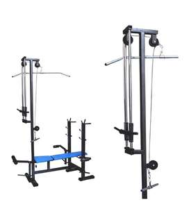 20 in 1 Lat Bench full set up, Brand new.