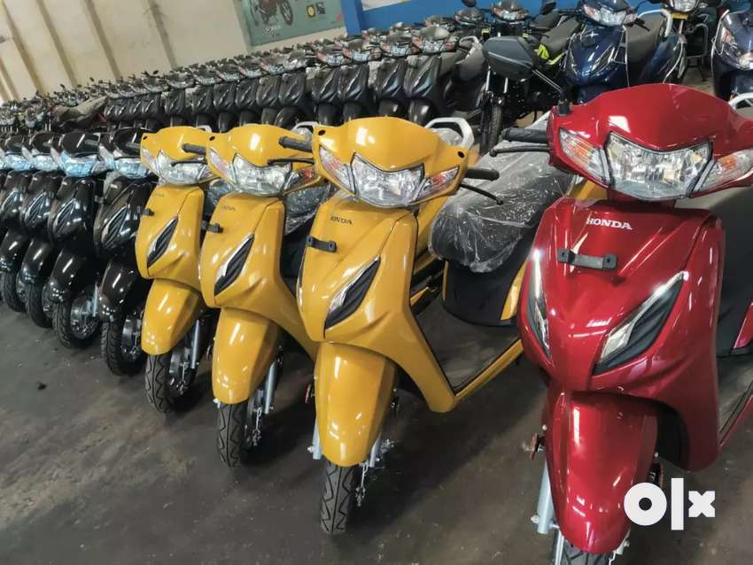 Activa 6g Down payment -12000/-