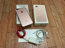 Iphone 7 plus 32gb fullset ex Ibox