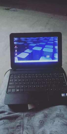 Hp (mini) new laptop  atom gen