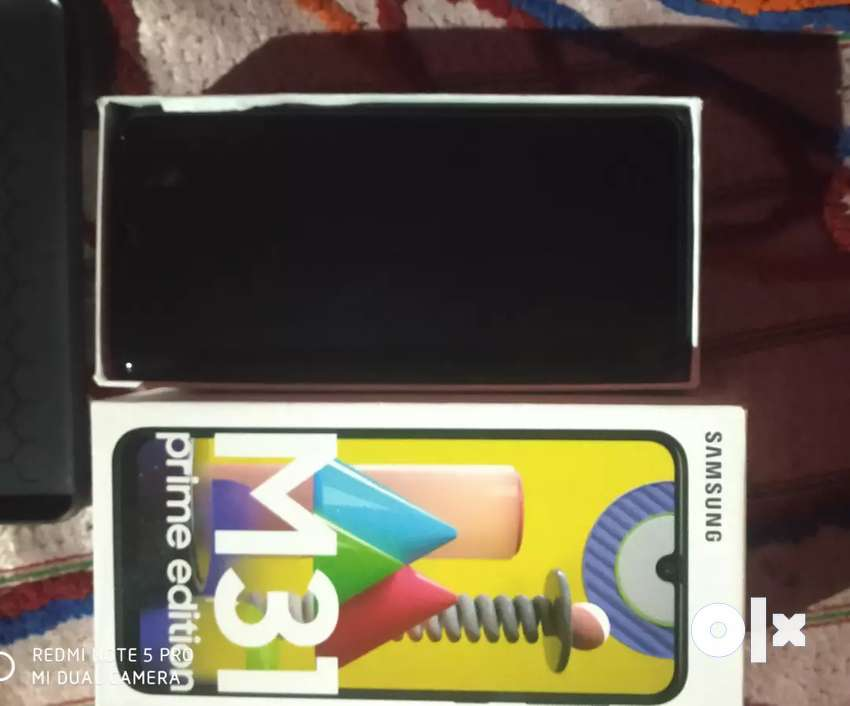 Samsung m31 15 days old 6/128 black 0