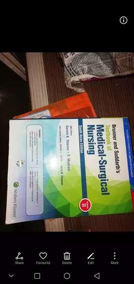 Medical surgical Nursing book