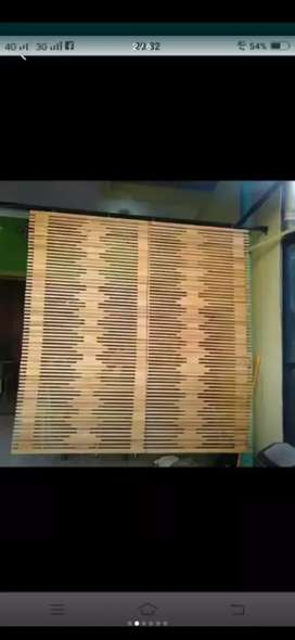 Jual tirai isi bambu dan isi bambu ,rotan dan kulit