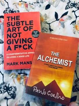 The Alchemist & The Subtle art of not VM giving a - (books/novels)