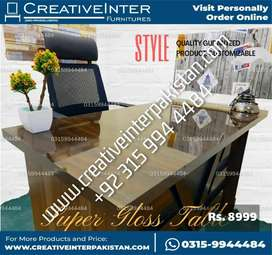 Study Office Table supergloss sofa bed set chair dining workstation