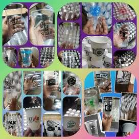 Trima Pesanan Sablon/Printing Gelas Thai Tea(CUP PLASTIK PP)16oz 8gram