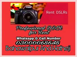 Dlsr available for rent
