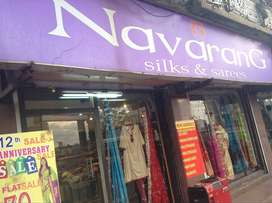 15 year old navarang SILKS and sarees for sale
