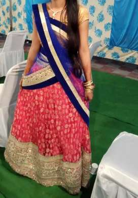 Lehnga for girls look