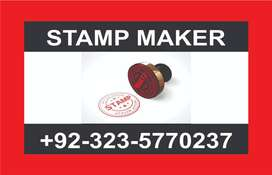 Rubber stamp maker