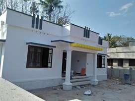 8 cent  3 bedroom 1300 sqft new house vavarabalam techno city