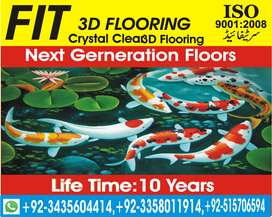 3D EPOXY FLOORS  FIT Builder HOUSE  PLAZA Construction in Rawalpindi
