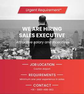 Sales Executive for Cochin