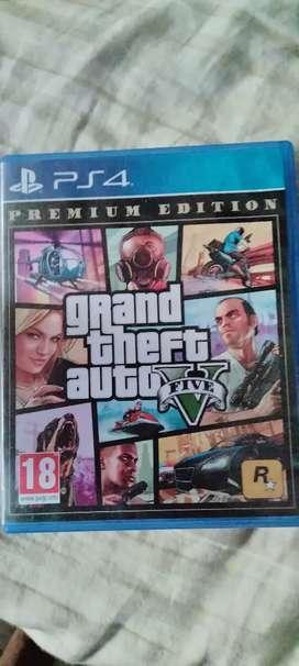 GTA 5 PS4 dvd