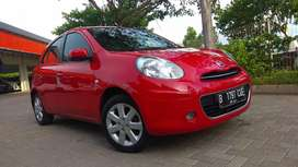 Nissan march 1.2L Matic 2013 Merah merona