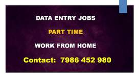 Part Time DATA ENTRY Work From Home. Earn By Typing Job. Join Today!