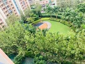 Garden Facing, Corner 2 Bhk Flat For Sale At Sarang, Nanded City