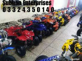 New Stock Automatic Gear ATV Quad 4 Wheels Deliver In All Pakistan
