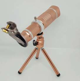 20X Telephoto Mobile Zoom Camera Lens With Tripod - Black
