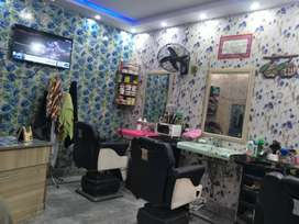 Required worker for cutting saloon