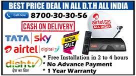 OFFER Tata Sky HD tatasky Airtel Dish TV Dishtv VideoconD2h airteldth