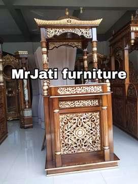 Mimbar podium kantor ( presiden ) Indor Furnictur