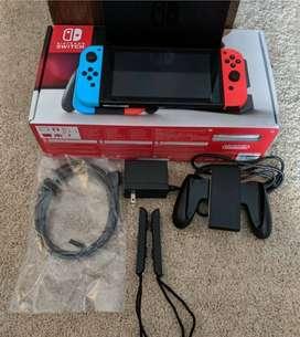 Nintendo Switch hampir Baru, sempurna