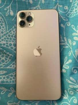 Iphone 11 pro max. Golden colour