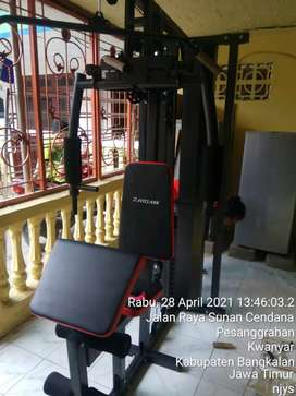 Alat fitness home gym 1 stasion bisa kirim