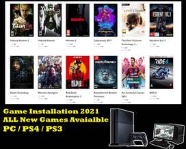 Game installation new 2021 Games available