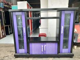 Bufet tv murah avanza warna ungu teriplek campuran