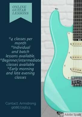 Online Guitar Classes!!