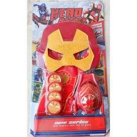 Sarung Tangan + Topeng Iron Man No,2071