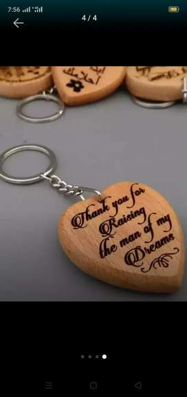 Simple keychain simple price for woods