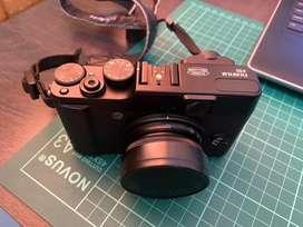 Fujifilm x10 black