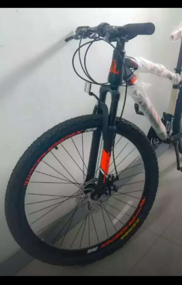 Sepeda gunung baru 0