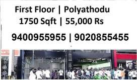 First Floor | Polayathodu | Kollam | 1750 Sqft | 55,000 Rs